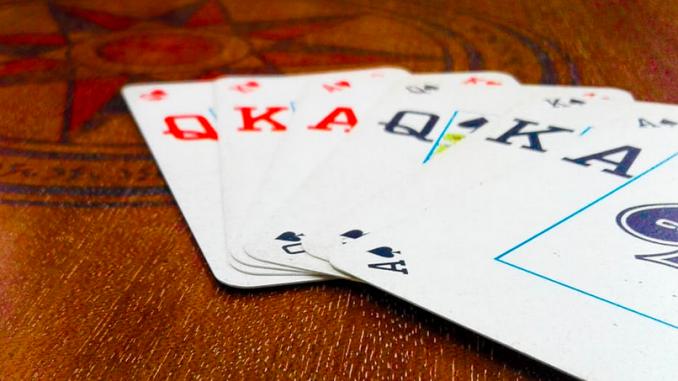 kortspel för 2 personer