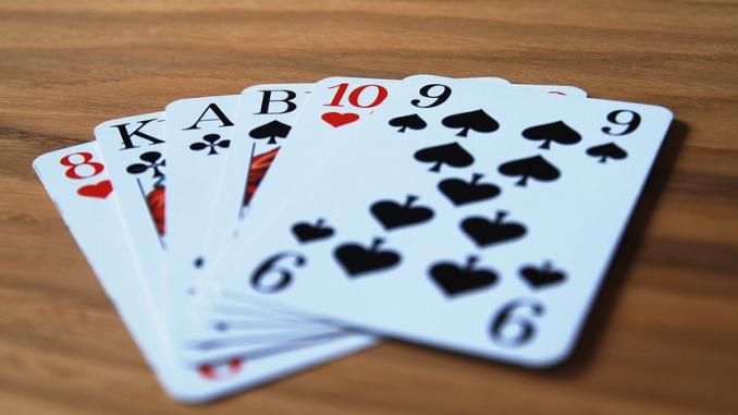 kortspel för två sjuan