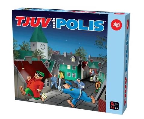 tjuv och polis spel